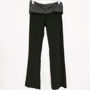 Victoria's Secret Pink M black fold over leggings